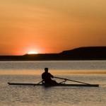 La solitudine del canottiere