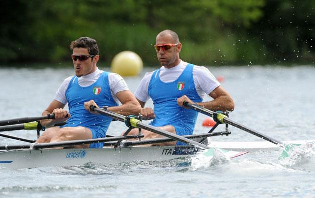 Romano Battisti e Alessio Sartori, segni particolari: canottieri