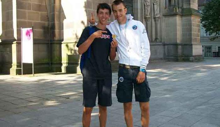 Paolo Ghidini con suo fratello Michele