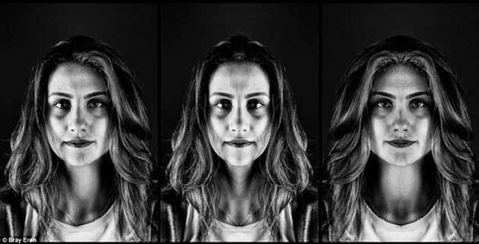 Uno dei ritratti del fotografo turco Eray Eren