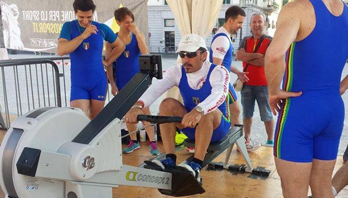 Mauro Martelli in azione
