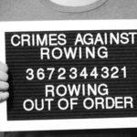 I 10 crimini contro il canottaggio