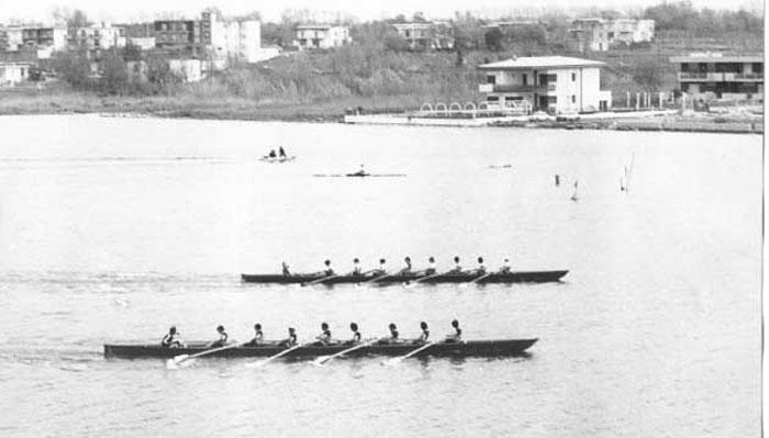 60^ Coppa Lysistrata: fotofinish - Lago Patria (NA) 29 aprile 1973