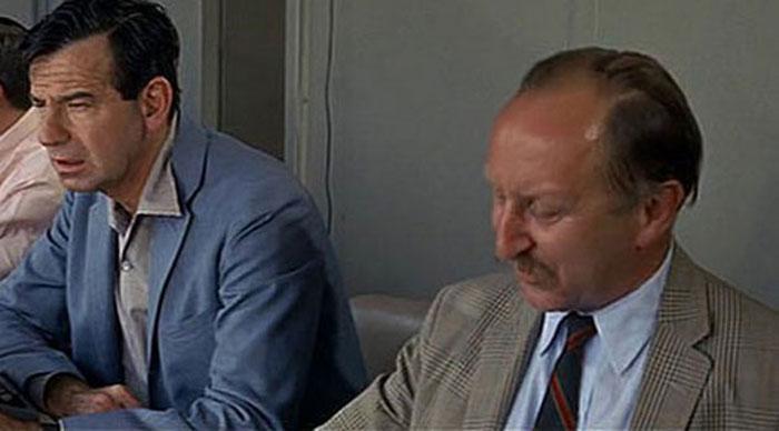 Heywood Hale Broun (a destra) e Walter Matthau (a sinistra)