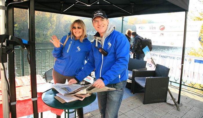 Giorgia Garberoglio e Umberto Dentis