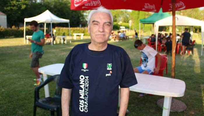 Il mitico timoniere Bruno Cipolla