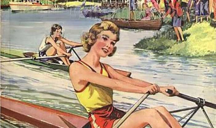 Donne-rowing