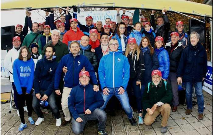 I magnifici volontari del SilverSkiff - foto di Claudio Cecchin
